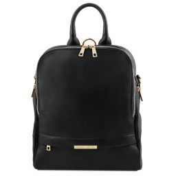 TL Bag Soft leather backpack for women Черный TL141376