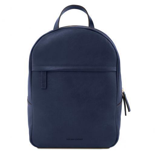 TL Bag Zaino donna in pelle Blu scuro TL141604
