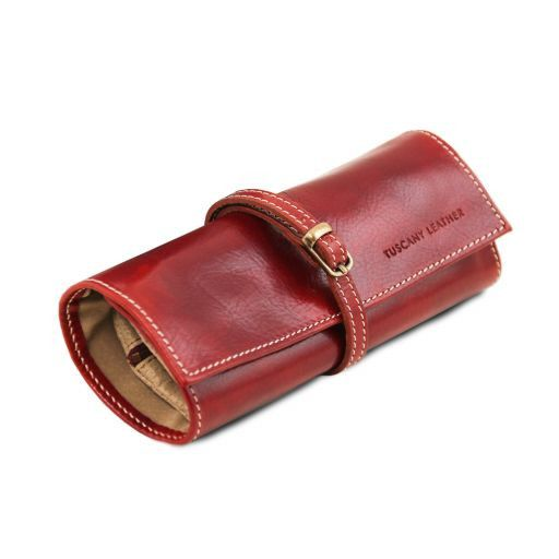 Exclusive leather jewellery case Красный TL141621