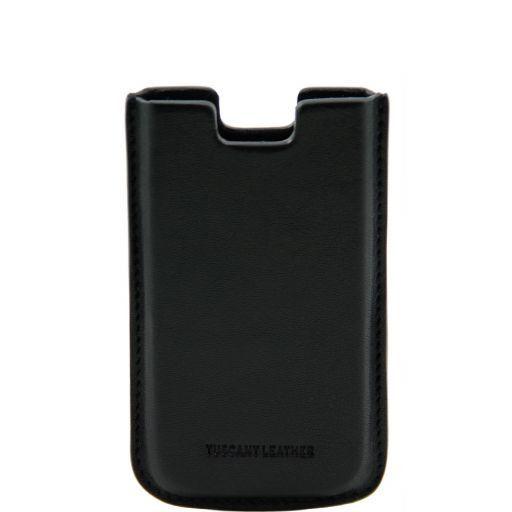 Porta iPhone SE/5s/5 en piel Negro TL141128