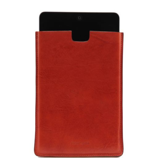 Porta iPad Mini in pelle Arancio TL141141