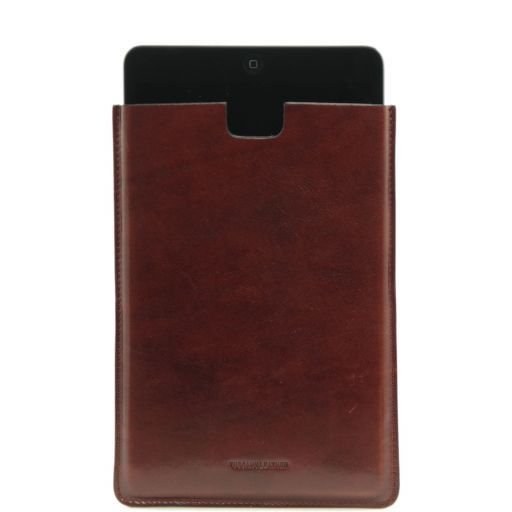 Porta iPad Mini in pelle Marrone TL141141