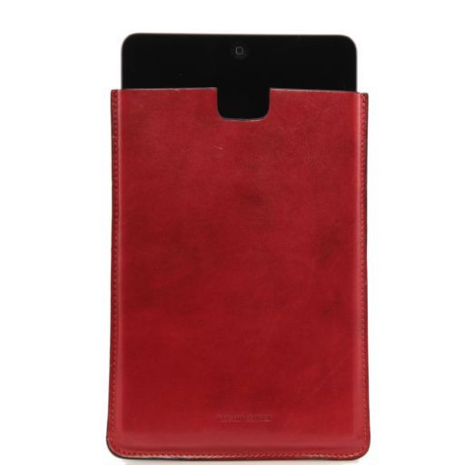 Leather iPad Mini case Red TL141141