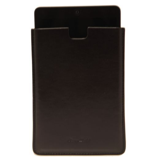 Porta iPad Mini in pelle Nero TL141141