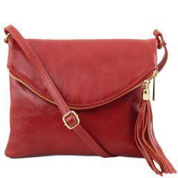 TL Young Bag Borsa a tracolla con nappa Rosso TL141153