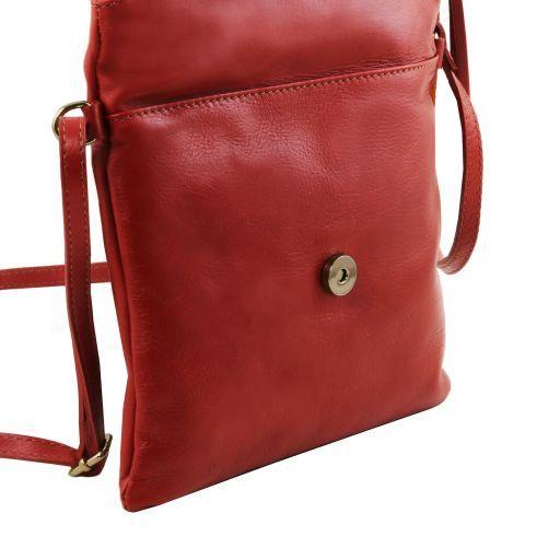 TL Young Bag Bolso con bandolera y borla Rojo TL141153