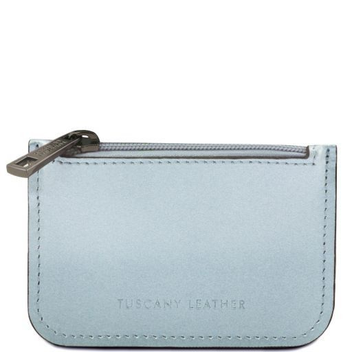 Porta llaves en piel Light Blue TL141677