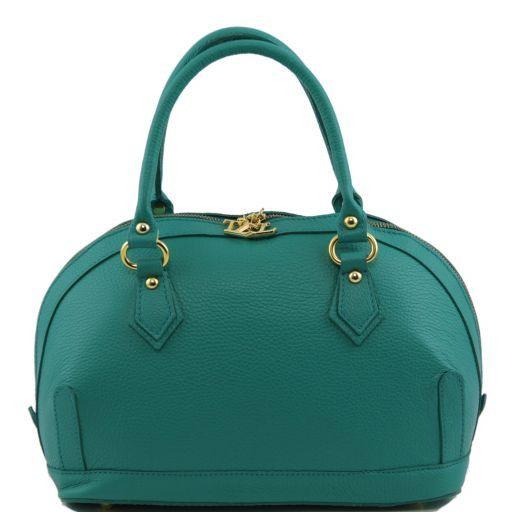 TL Bag Bauletto en piel pequeño Turquoise TL141158