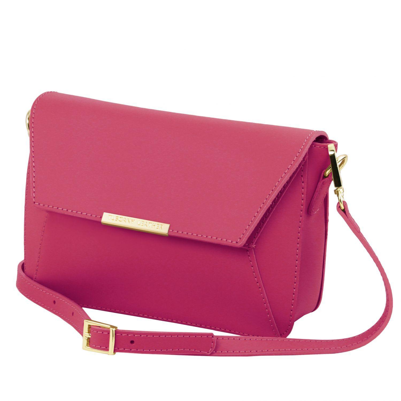 TL Bag Pochette in Pelle Magenta TL141584