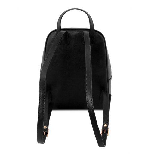 TL Bag Small Saffiano leather backpack for woman Черный TL141701