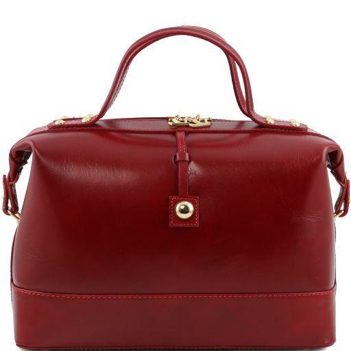 """TL Bag Bolso en piel """"Bauletto"""" Rojo TL141190"""
