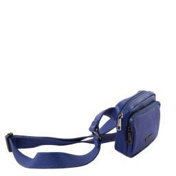 TL Bag Leather fanny pack Blue TL141700