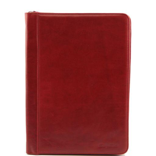 Luigi XIV Эксклюзивная кожаная папка для документов Красный TL141194