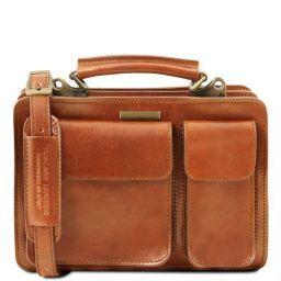 Tania Leather lady handbag Honey TL141270
