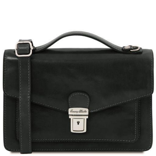 Eric Leather Crossbody Bag Black TL141443
