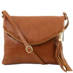 TL Young bag Shoulder bag with tassel detail Cognac TL141153