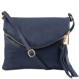 TL Young Bag Borsa a tracolla con nappa Blu scuro TL141153
