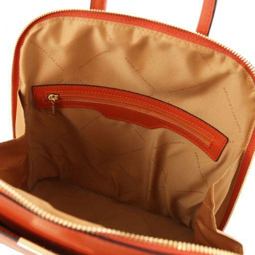 TL Bag Mochila para mujer en piel Saffiano Brandy TL141631
