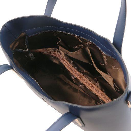 Olimpia Leather tote Темно-синий TL141412