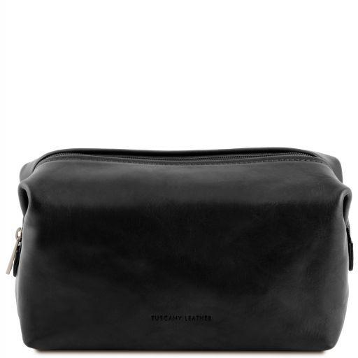 Smarty Beauty case in pelle - Misura grande Nero TL141219