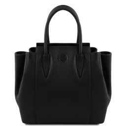 Tulipan Leather handbag Черный TL141727