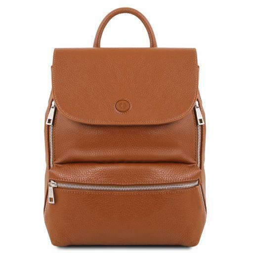 Margherita Leather backpack Коньяк TL141729