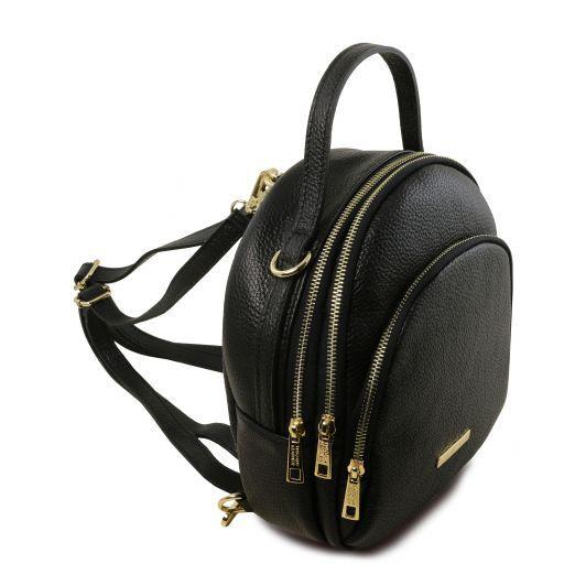TL Bag Zaino donna in pelle Nero TL141743