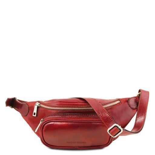 Leather Fanny Pack Красный TL141797