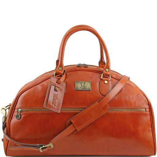 TL Voyager Дорожная кожаная сумка - Большой размер Мед TL141245