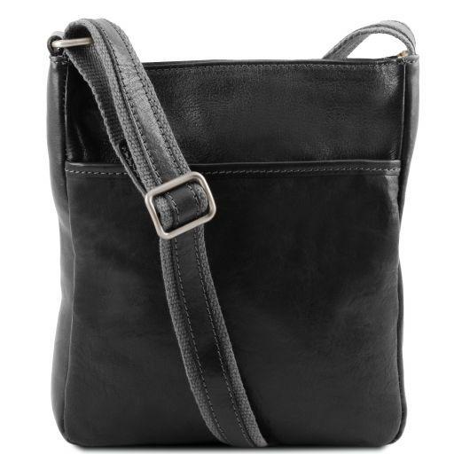 Jason Leather Crossbody Bag Black TL141300