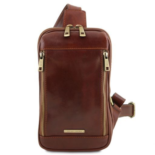 Martin Leather crossover bag Brown TL141536