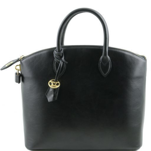 TL Bag Borsa shopper in pelle Nero TL141263