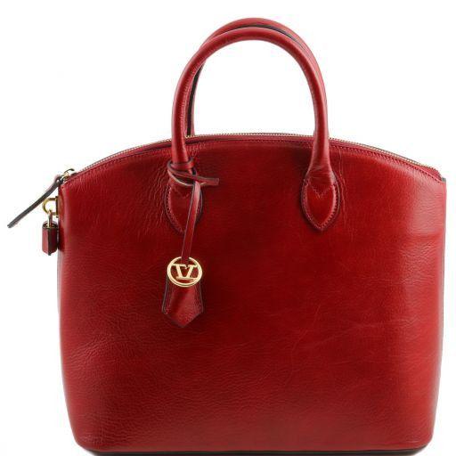 TL Bag Borsa shopper in pelle Rosso TL141263