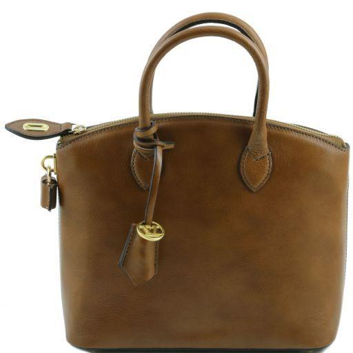 TL Bag Borsa shopper in pelle - Misura piccola Talpa scuro TL141264