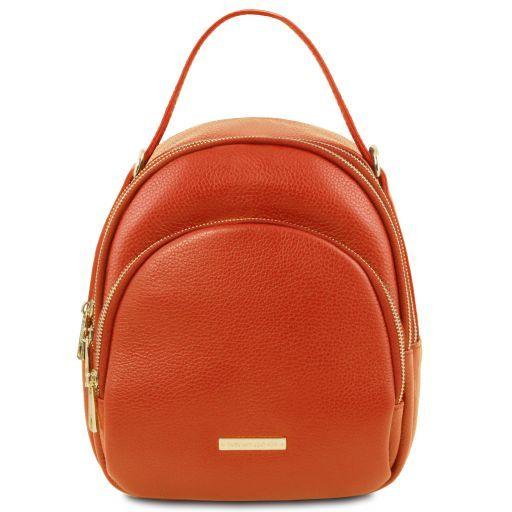TL Bag Damenrucksack aus Leder Brandy TL141743