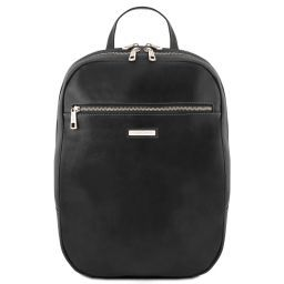 Osaka Leather laptop backpack Black TL141711