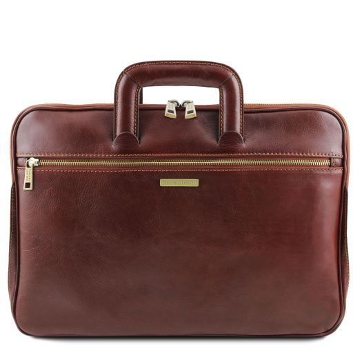 Caserta Кожаный портфель для документов Коричневый TL141324