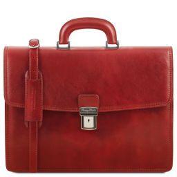 Amalfi Aktentasche aus Leder 1 Fach Rot TL141351