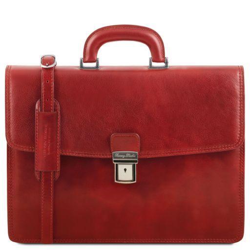Amalfi Cartella in pelle 1 scomparto Rosso TL141351