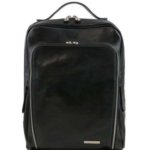 Bangkok Zaino porta notebook in pelle Nero TL141289