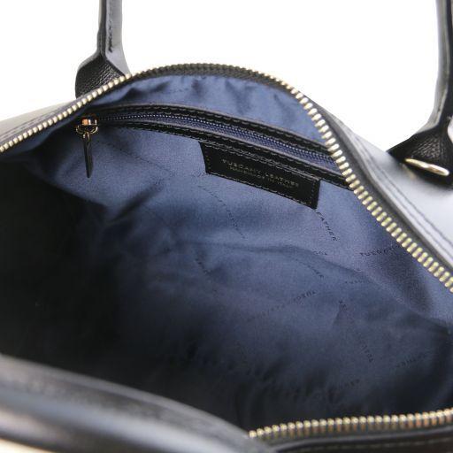 Elena Sac bauletto en cuir Noir TL141829