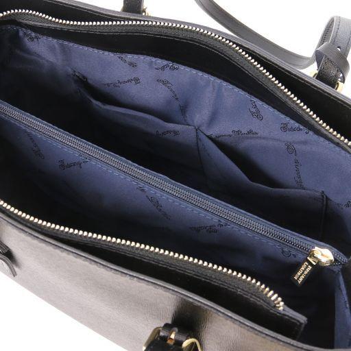 TL Bag Saffiano leather handbag Черный TL141518