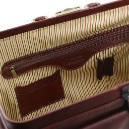 Giotto Esclusiva borsa medico in pelle con doppio fondo Testa di Moro TL141297