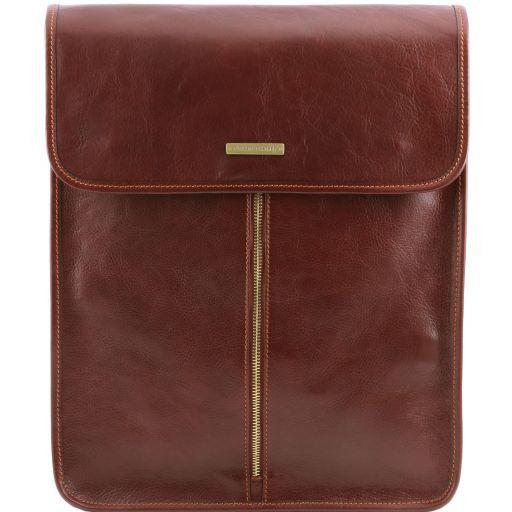 Exclusive housse pour chemises en cuir Marron TL141307