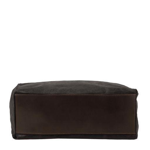 Annie Aged effect leather TL SMART shopping bag Black TL141552