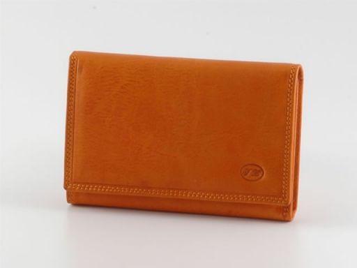 Portafogli in pelle donna Arancio TL140216