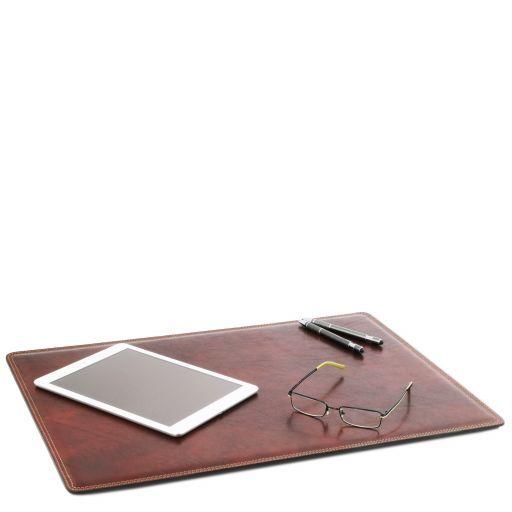 Carpeta de escritorio de piel Marrón TL141892