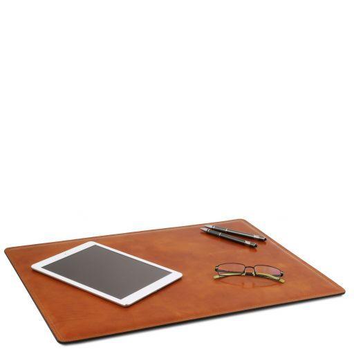 Schreibtischunterlage aus Leder Honig TL141892
