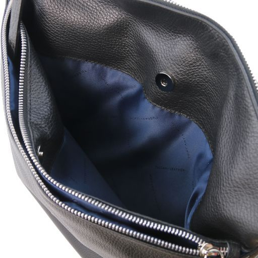 TL Bag Soft leather shoulder bag Black TL141874