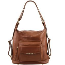 TL Bag Leather convertible bag Cinnamon TL141535